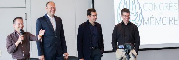 Vincent Delourmel, Nicolas Lisiak, Jérôme Hoarau et Cyril Maitre